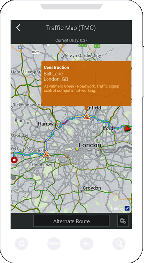 Real-time Traffic | CoPilot GPS on